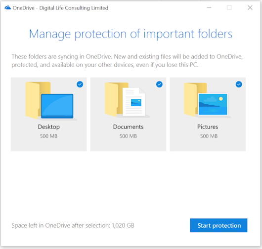 protection of important folders